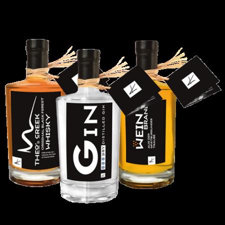 Whisky, Gin & Weinbrand